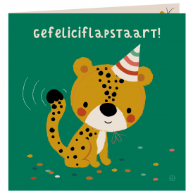 Jungle - Gefeliciflapstaart cheeta
