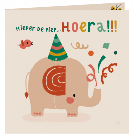 Jungle - Hoera olifant