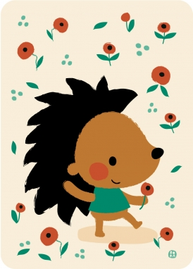 Poppy hedgehog